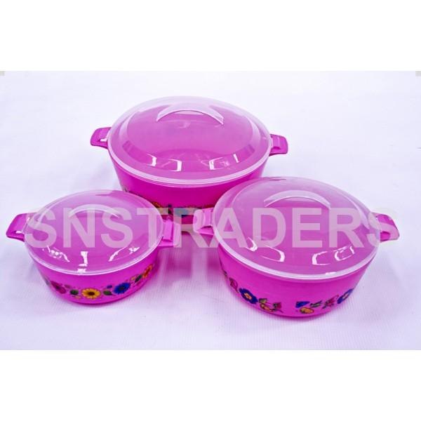 Container 03 Pcs Serving Pot