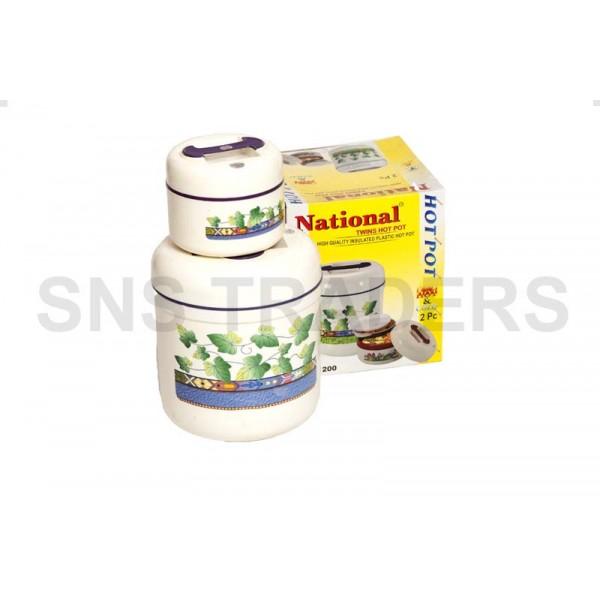 National Hot Pots - 02 Pc