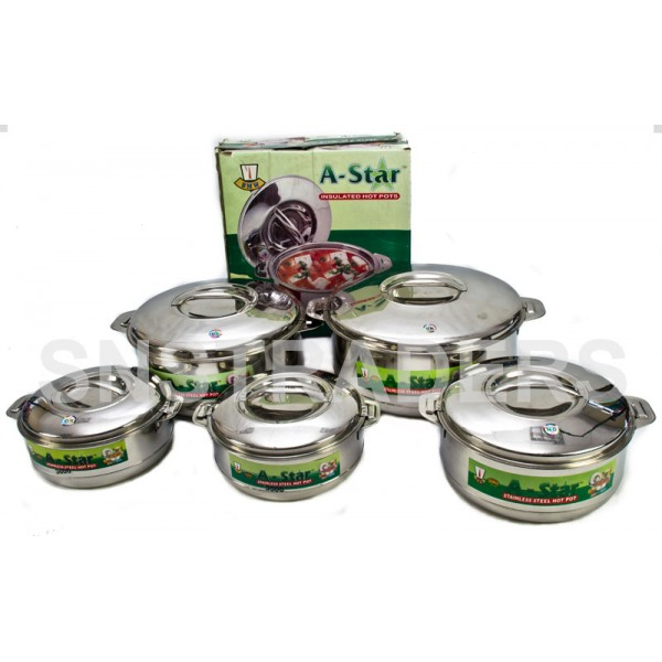 A-Star Stainless Steel Hot Pots