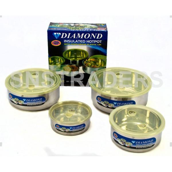 Diamond Stainless Steel Hot Pots