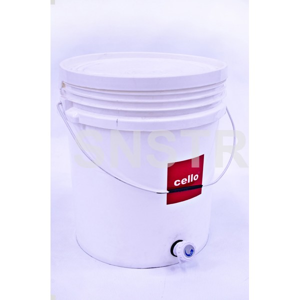 Cello Bucket Tap 20Lt with Steel Handle