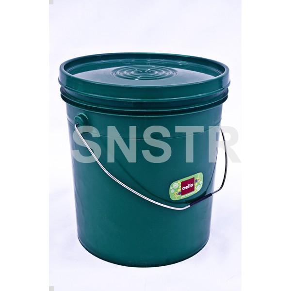Cello Bucket House Hold 20Lt with Steel Handle