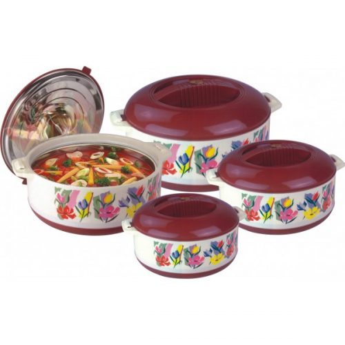 Hot King Hot Pots - 03 Piece Set