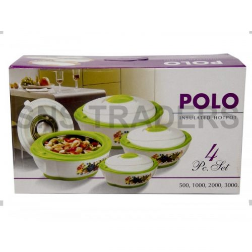 Polo Hot Pots - 04 Piece