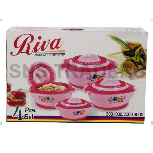 Riva Hot Pots - 04 Piece