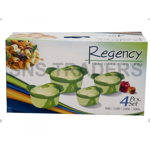 Regency Hot Pots - 04 Piece