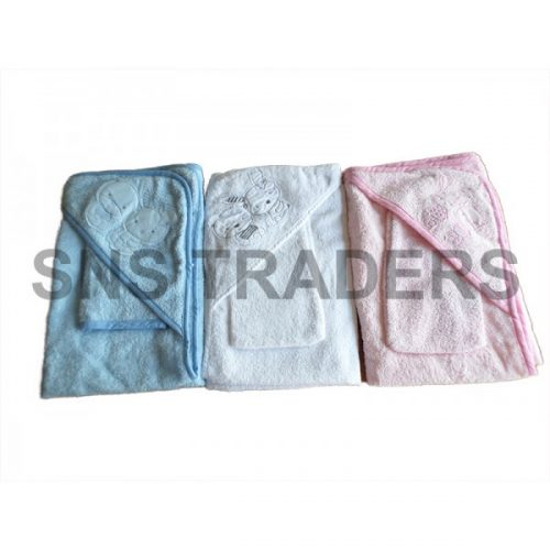 Baby Hooded Towel with Blip