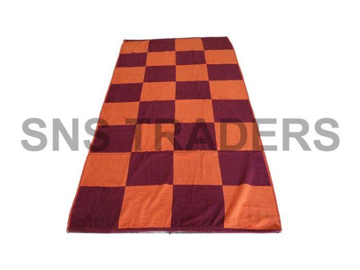 Check Bath Towel - 090 x 180 cm