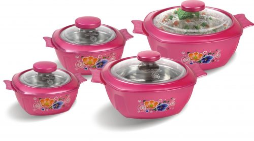 Grand 04 Piece Hot Pot Set