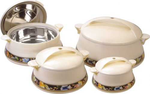 Toefel 04 Piece Hot Pot Set
