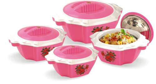 Exotica 04 Piece Hot Pot Set