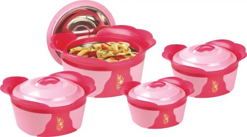 Regency 04 Piece Hot Pot Set