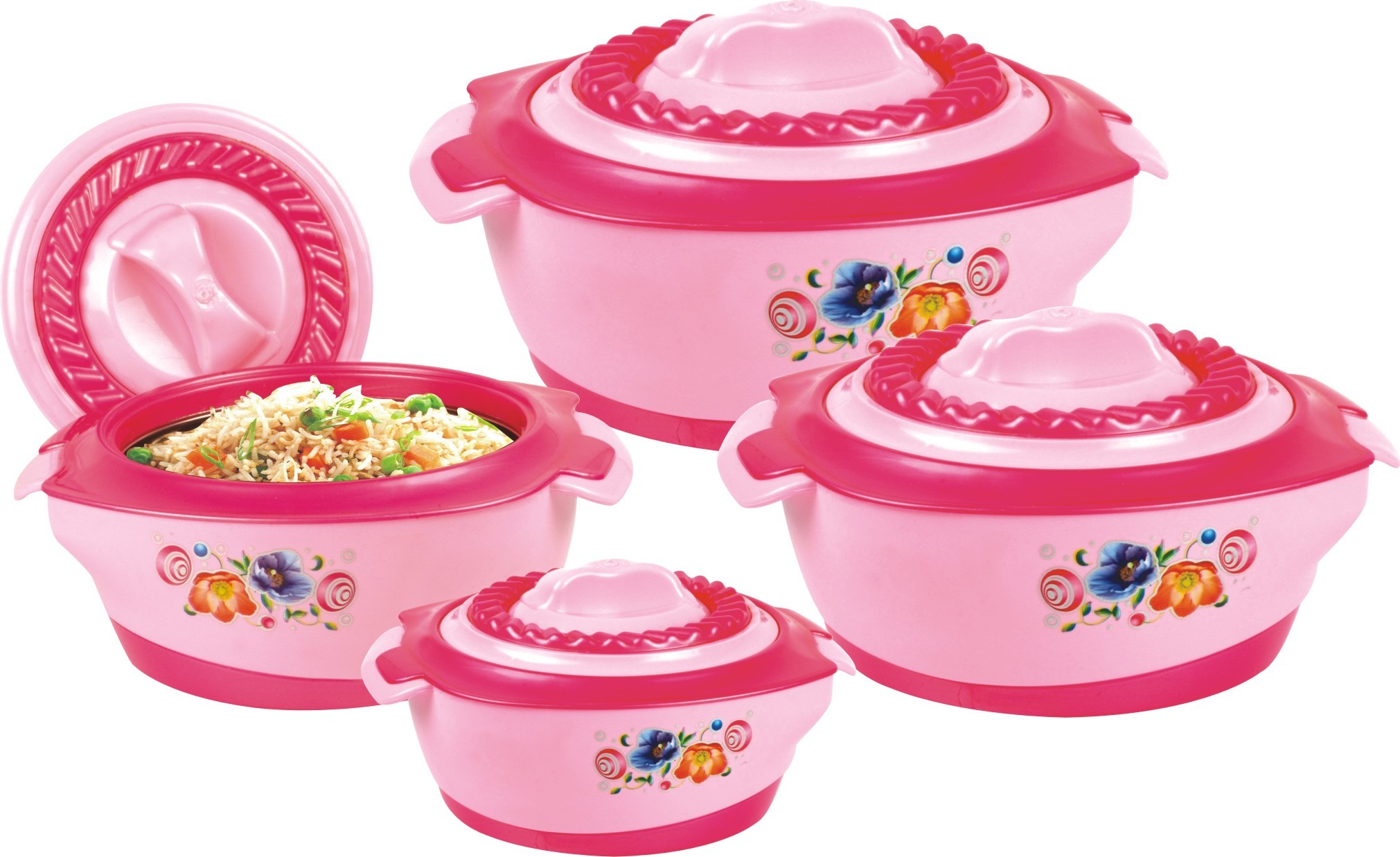 Riva 04 Piece Hot Pot Set