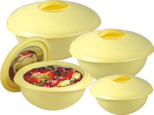 Appolo 04 Piece Hot Pot Set