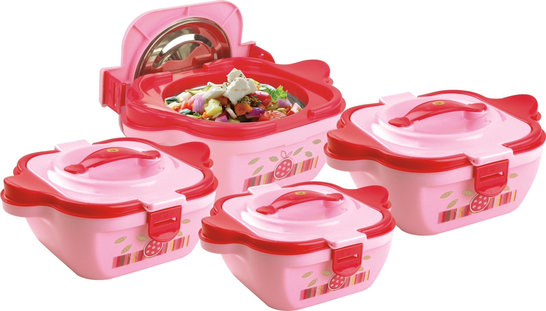 Lock & Fresh 04 Pc Hot Pot Set