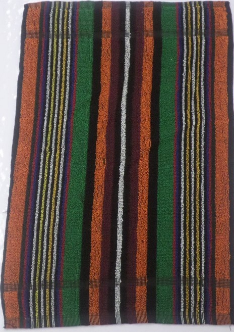 Dark Stripe Face Cloths