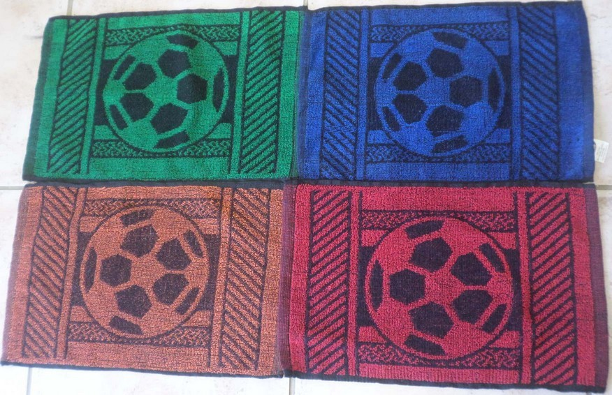 Soccer Ball 2 Face Cloths